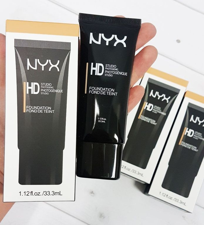 Тональная основа NYX HD STUDIO PHOTOGENIC FOUNDATION, 33,3мл