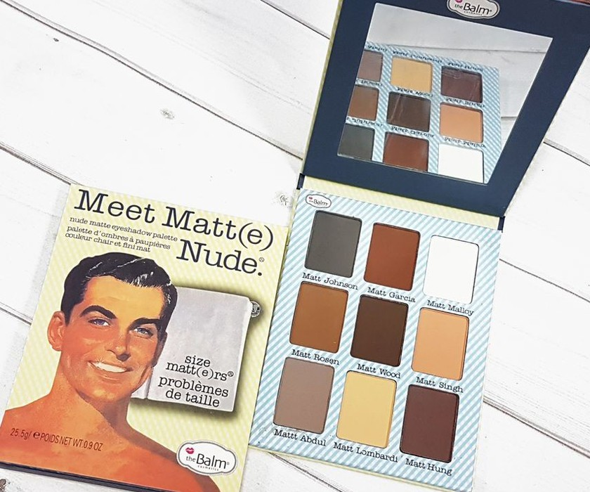 Палетка матовых теней THE BALM MEET MATTE NUDE