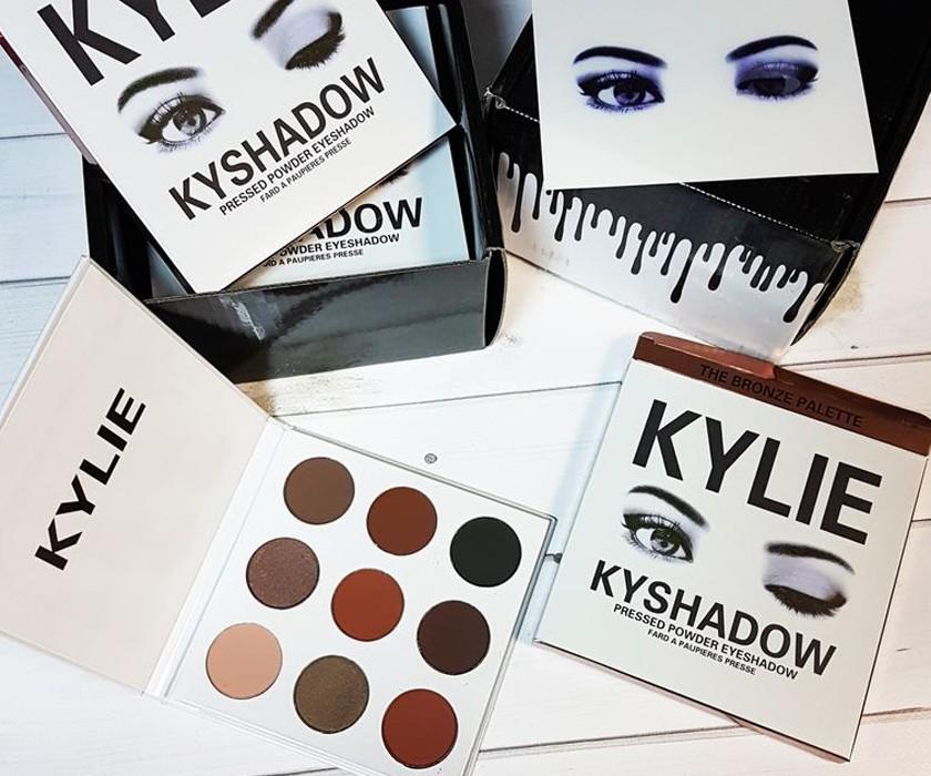 Палетка теней Kylie Jenner Kyshadow Pressed Powder Eyeshadow, 9 в 1