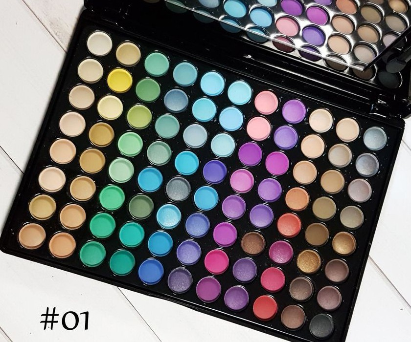Палитра теней 88 цветов #1 цветная