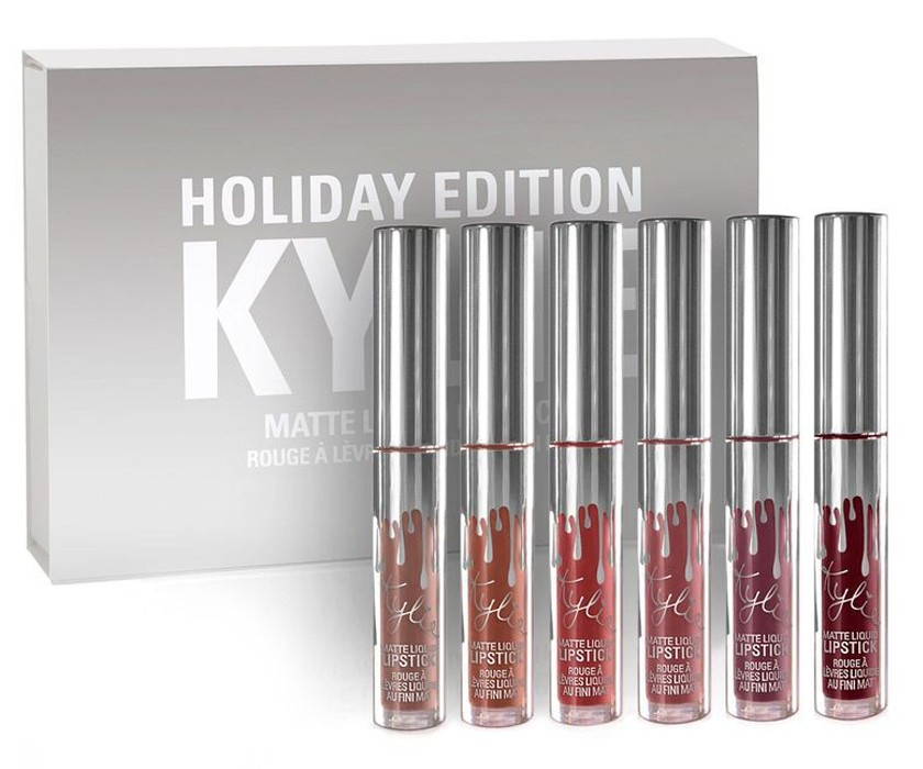 Набор помад Kylie Jenner Holiday Edition 6шт