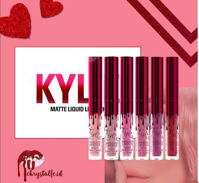 Набор матовых помад Kylie Valentine Collection