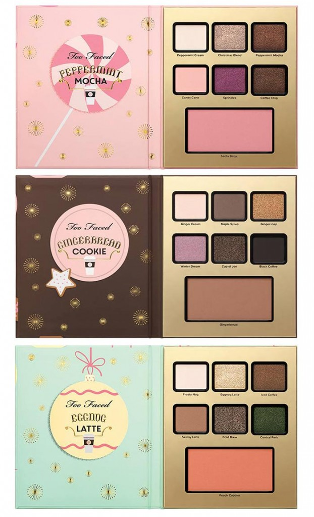 Палетки Too Faced Holiday Scented Makeup