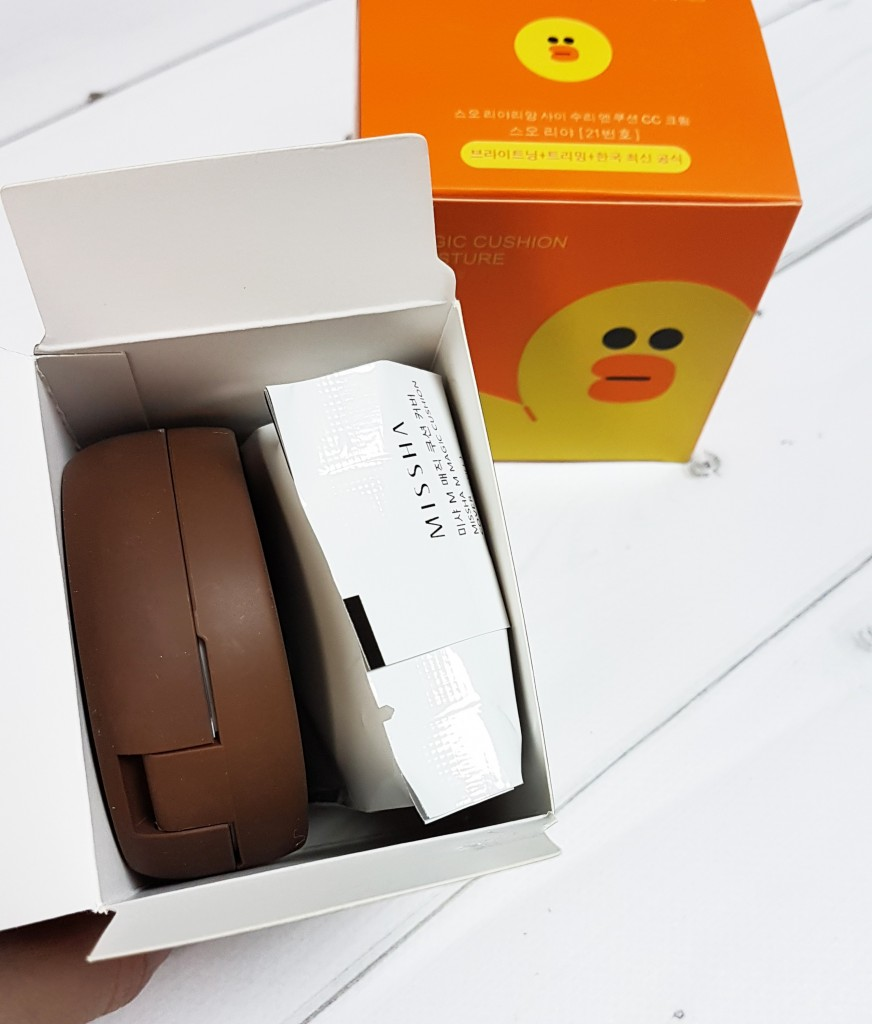 Кушон Missha Line Friends Edition Magic Cushion Package