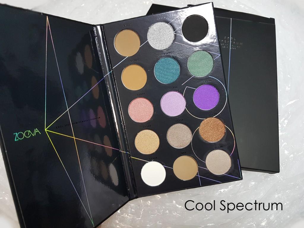 Палитры теней ZOEVA Spectrum Palette 15 в 1