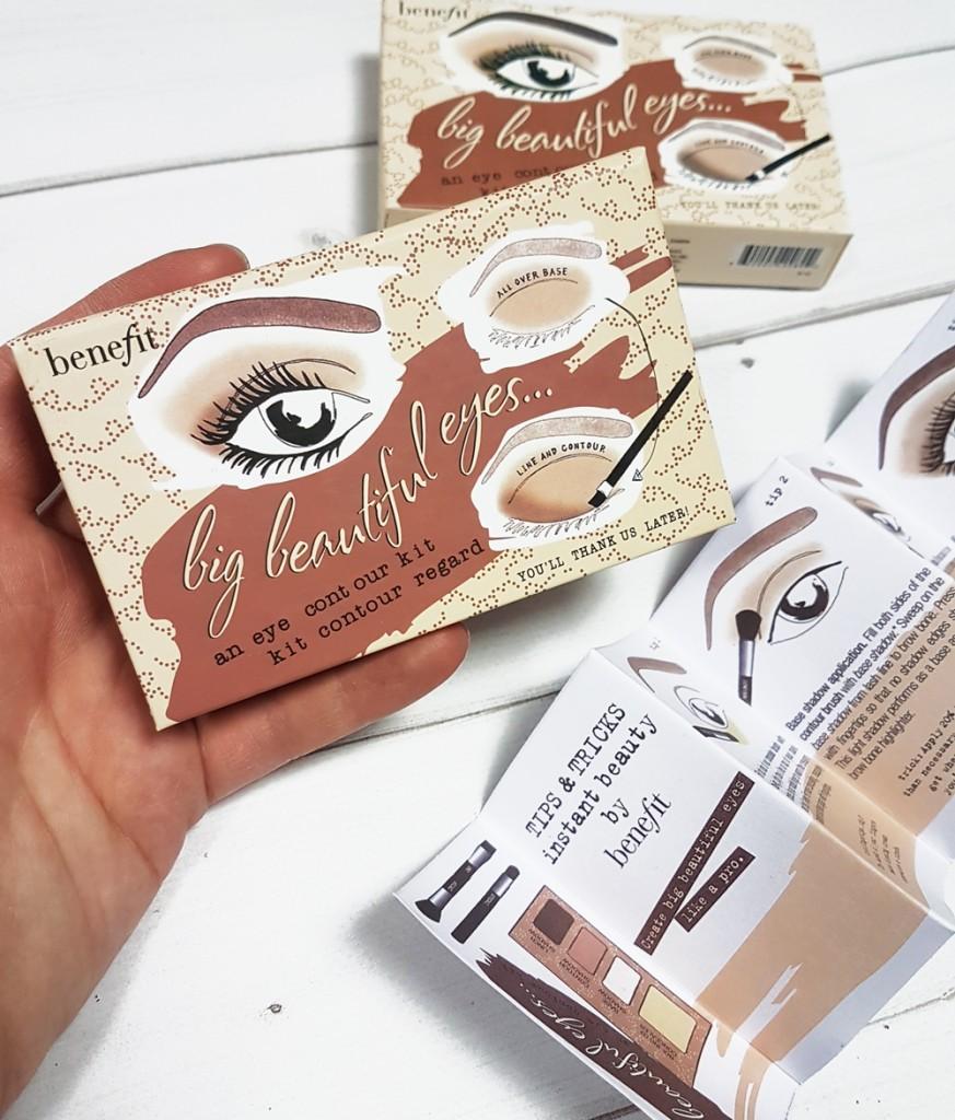 Палетка теней Benefit Big Beautiful Eyes