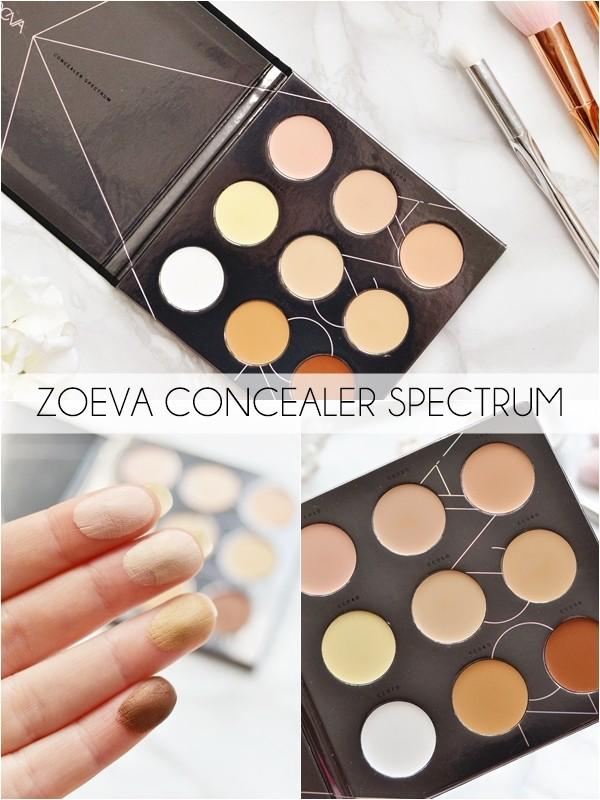 Палетка кремовых корректоров ZOEVA concealer spectrum palette