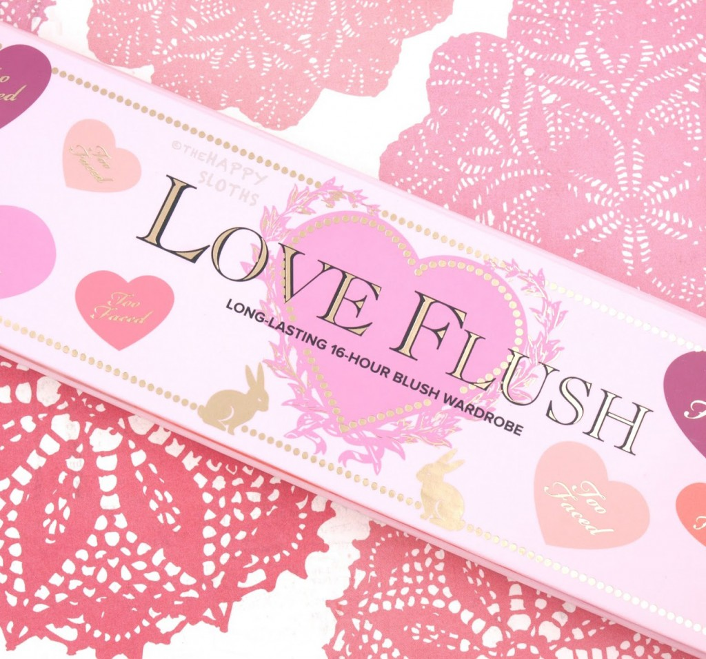 Палитры румян Too faced Love Flush