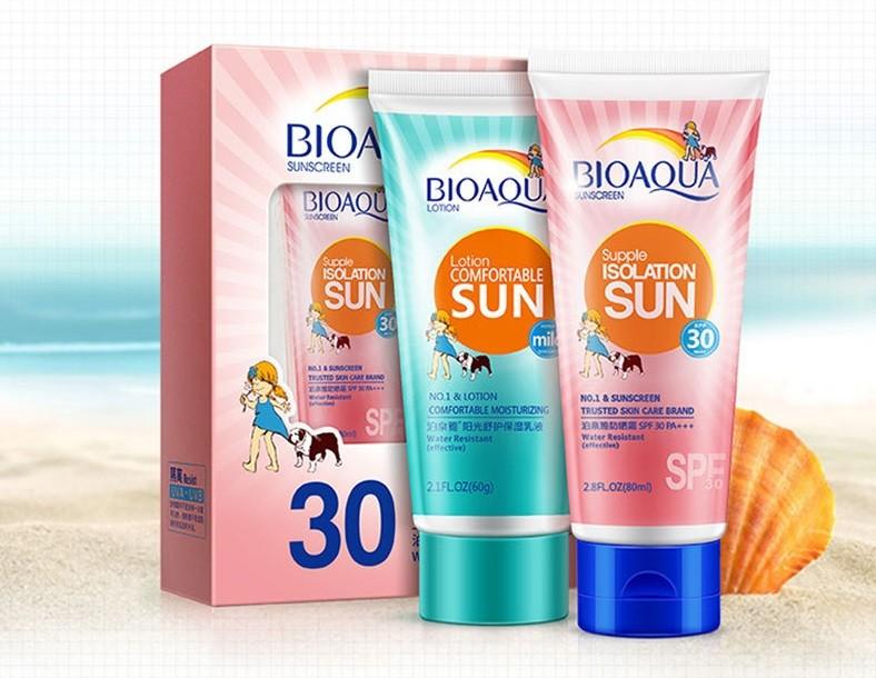 Пляжный набор кремов «BIOAQUA»