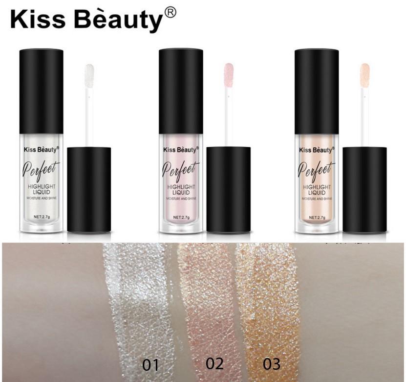 Жидкий хайлайтер Kiss beauty
