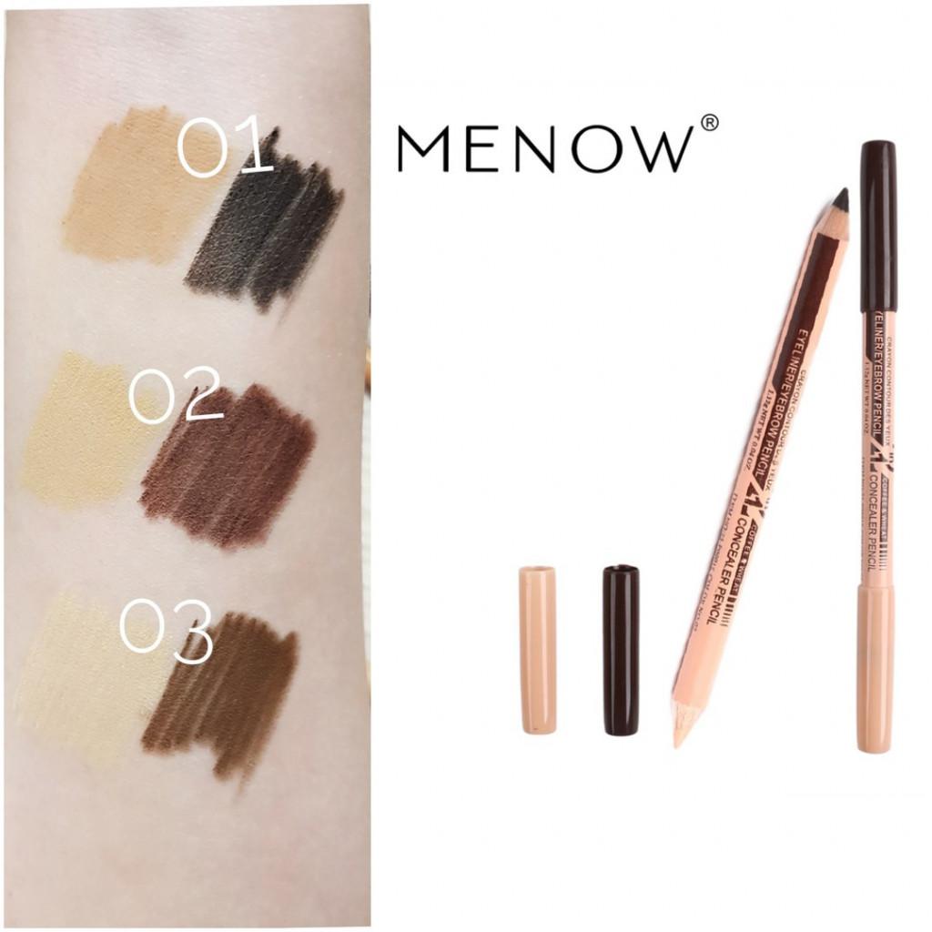 Двухсторонний карандаш-корректор MeNow