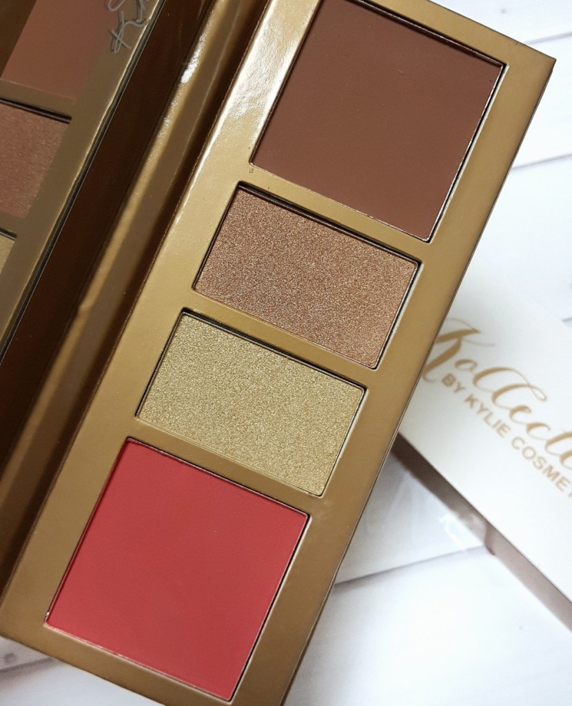 Палитра для скульптурирования лица KYLIE KOKO KOLLECTION FACE PALETTE