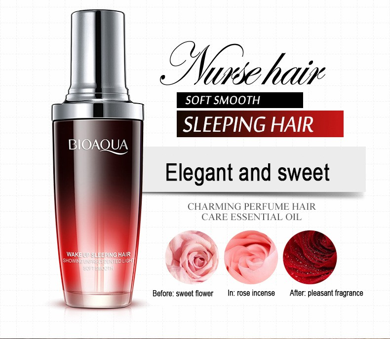 Увлажняющее масло для волос «BIOAQUA». 80 мл.