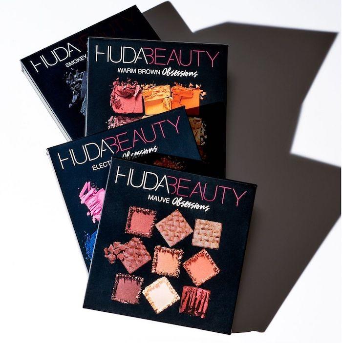 Палетки теней Huda Beauty obsessions palettes