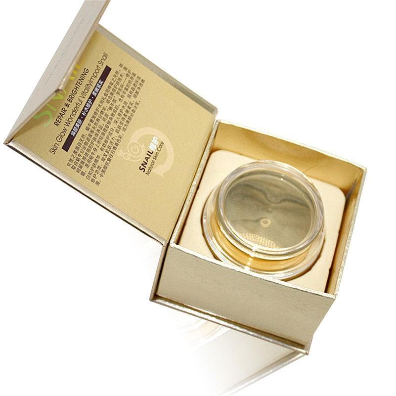 Крем с фильтратом улитки BioAqua Snail Repair & Brithening