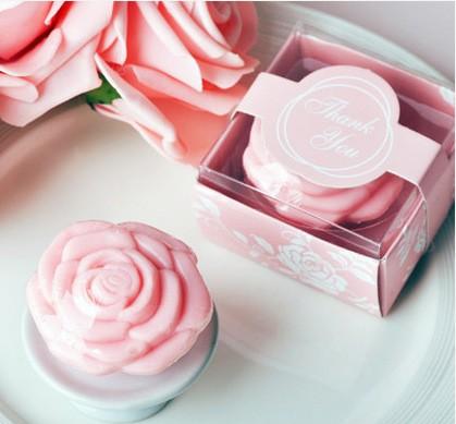 Мыло роза в коробочке