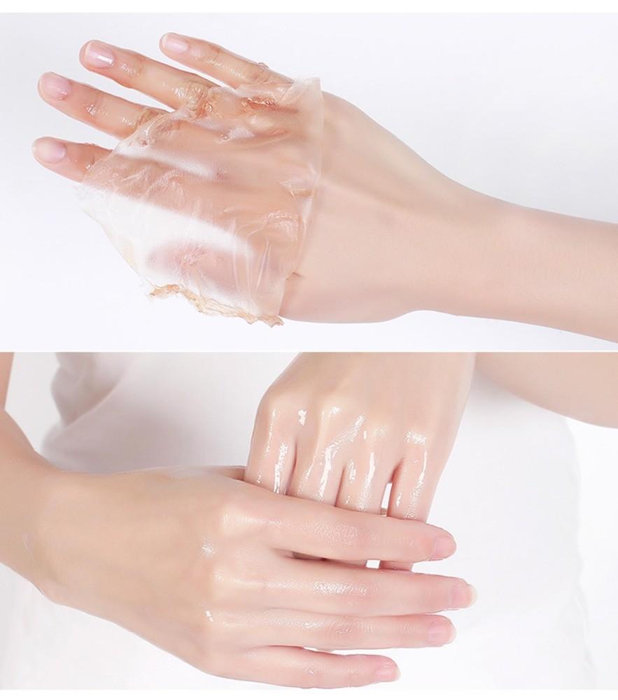 """Парафиновая маска для рук """"Молоко и мед"""" Bioaqua"""