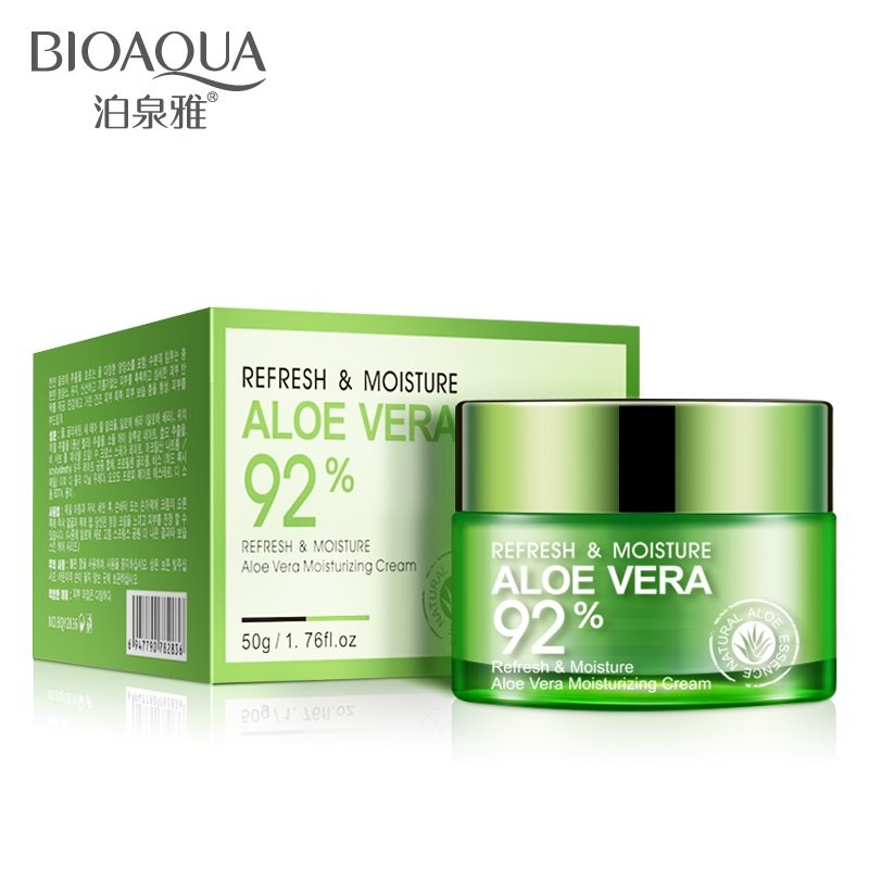 Крем-гель для лица увлажняющий с соком Алоэ BioAqua Aloe Vera 92%