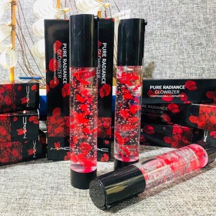 Увлажняющий праймер под макияж МК с лепестками роз