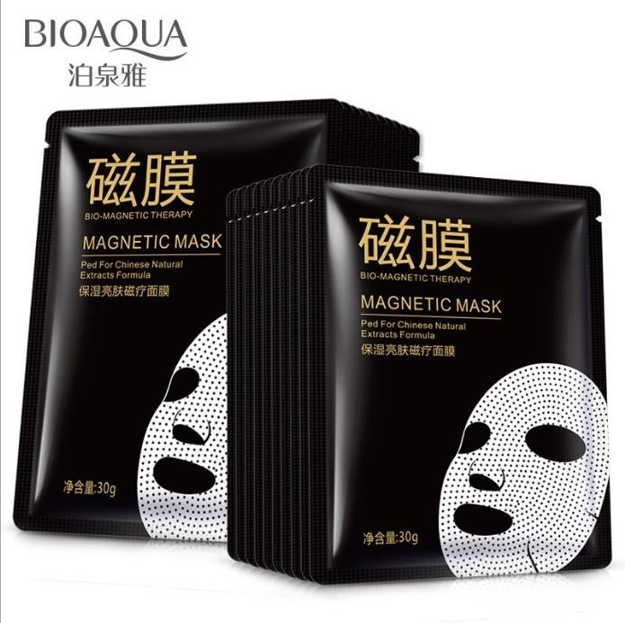 Тканевая маска с магнитами Bioaqua Bio-magnetic mask