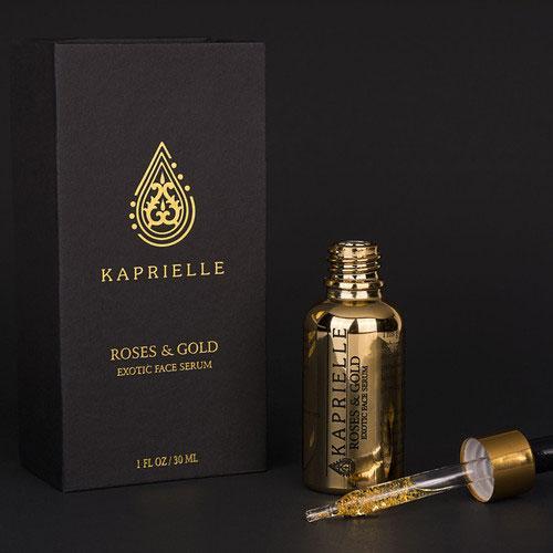 Сыворотка для лица KAPRIELLE Roses&Gold