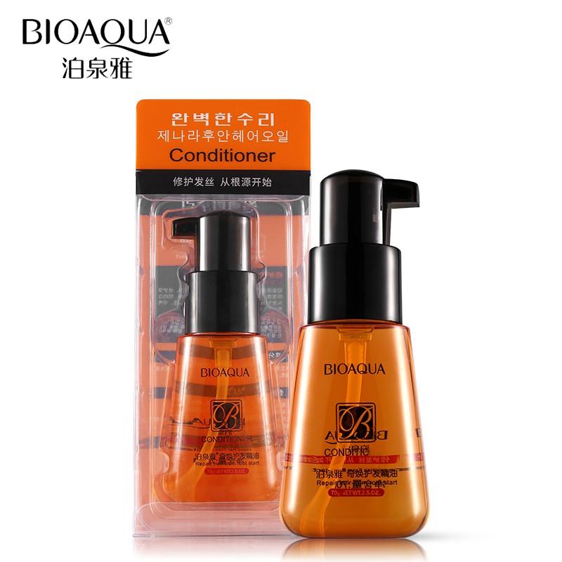 Флюид для гладкости и блеска волос Bioaqua conditioner, 70 мл