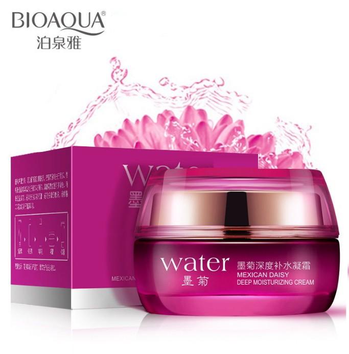 Увлажняющий крем для лица с экстрактом мексиканской хризантемы BioAqua Water Mexican Daisy Deep Moisturizing Cream
