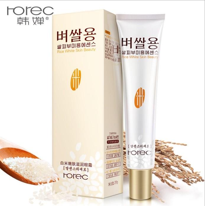 Крем для глаз с экстрактом белого риса Rorec Rice White Skin Bauty, 20 мл.