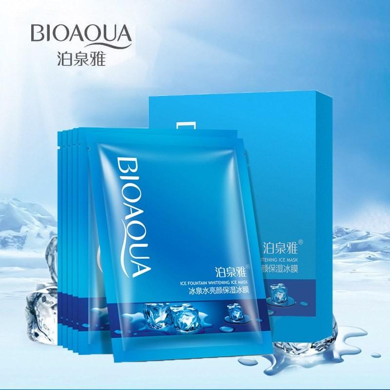 Охлаждающая, увлажняющая маска для лица BIOAQUA Ледяной фонтан