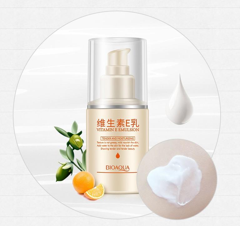 Эмульсия с витамином Е для лица и шеи Bioaqua Vitamin E Emulsion, 100 мл.
