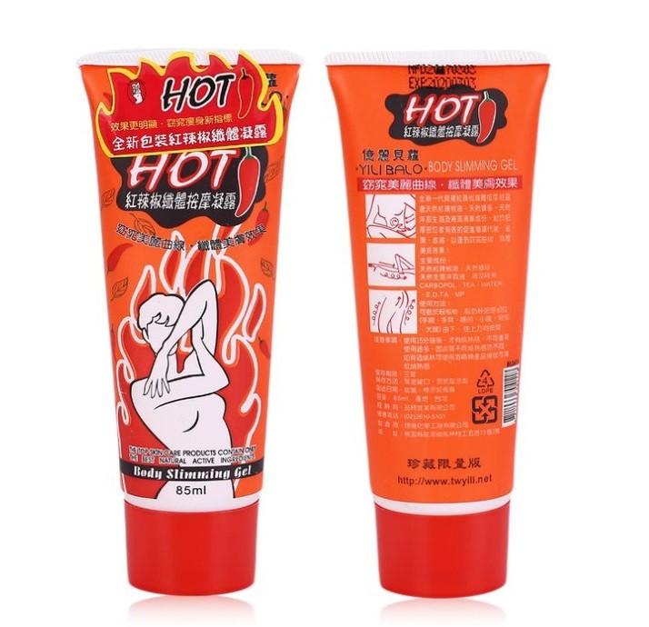 Разогревающий антицеллюлитный крем Hot Chili Bodi Gel. 85 мл.