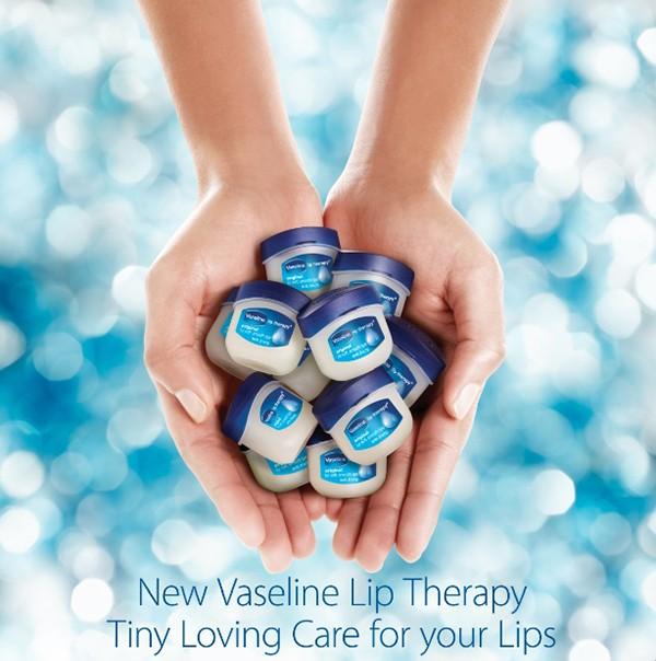 Вазелиновый бальзам для губ Vaseline Lip therapy