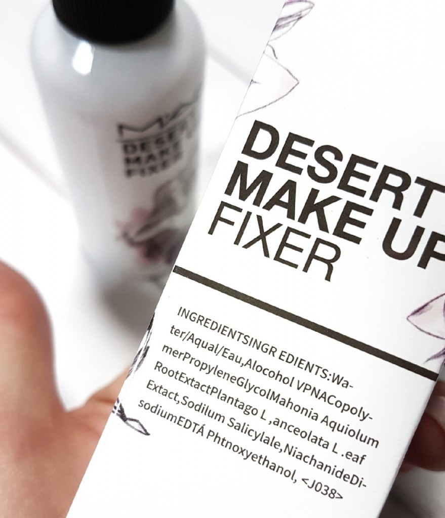 Фиксатор для макияжа M.A.C Desert Make Up Fixer