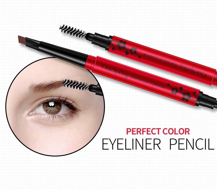 Карандаш для моделирования бровей с щеточкой ONESPRING Glamorous Charm Eyebrow