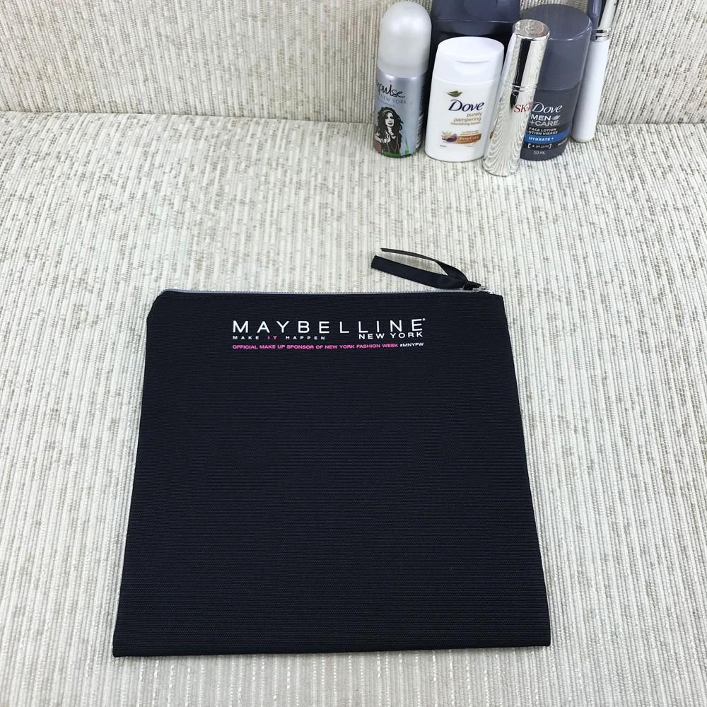 Косметичка квадратная большая Maybelline