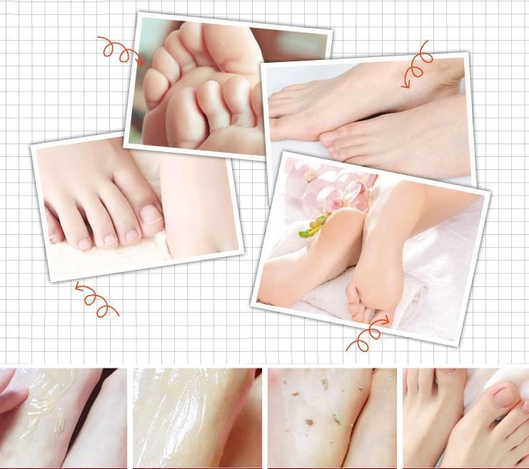 Пилинг-скатка для ног с маслом Ши Bioaqua Foot Care Peeling