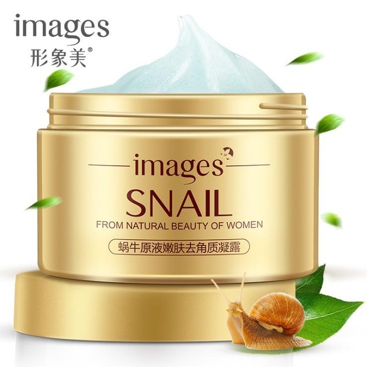 Пилинг-скатка с улиткой и гиалуроновой кислотой IMAGES Water Snail Dope Moist Skin, 140 мл.