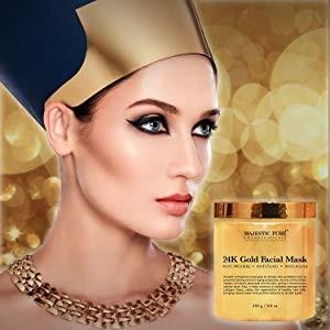 Маска пленка для лица с золотом и коллагеном 24К Gold Facial Mask, 250 гр.