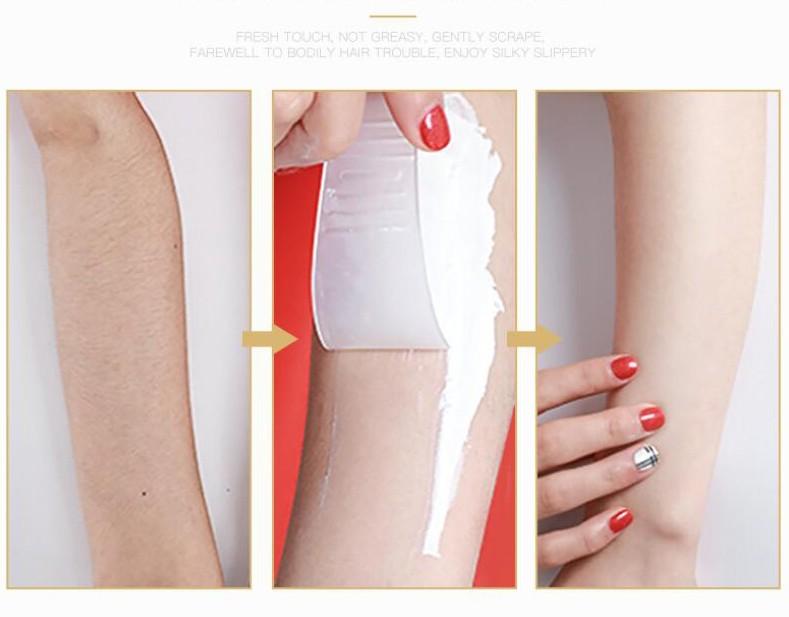 Набор кремов для депиляции IMAGES Depilatory Cream, 60 мл. + 60 мл. + лопатка.