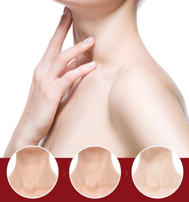Полипептидный крем для шеи с металлическими массажными роликами СAHNSAI, 100 гр.