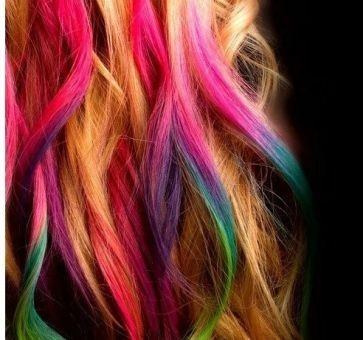 Мелки для волос 12 цветов