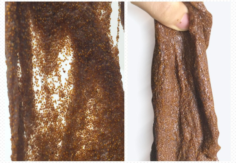Коллагеновая маска для лица из семян морских водорослей. 100% натуральные семена.