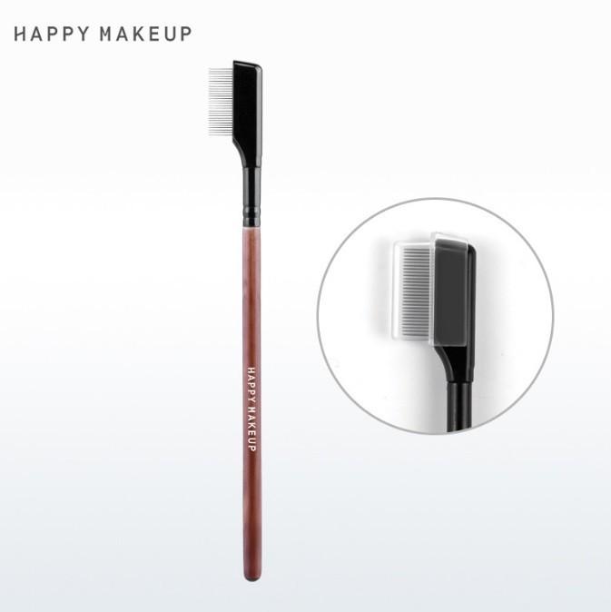 Металлическая расческа для разделения ресниц Happy Make up