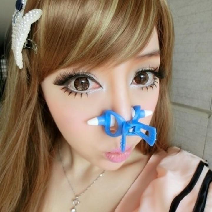 Зажим для сужения носа
