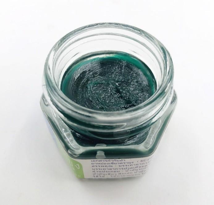 Травяной тайский бальзам от укусов насекомых (и не только) Green Mosquito Balm Yanhee, 13 гр.