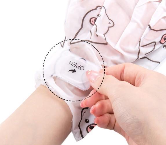 Восстанавливающая маска-перчатки для рук с аллантоином и касторовым маслом JOMTAM MOISTURIZING NOURISH HAND MASK, 1 пара.