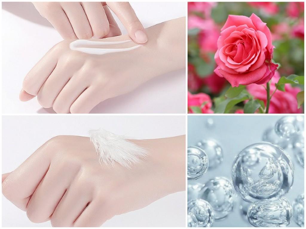 Увлажняющий парфюмированый лосьон для тела с маслом розы CAHNSAI, 200 мл.