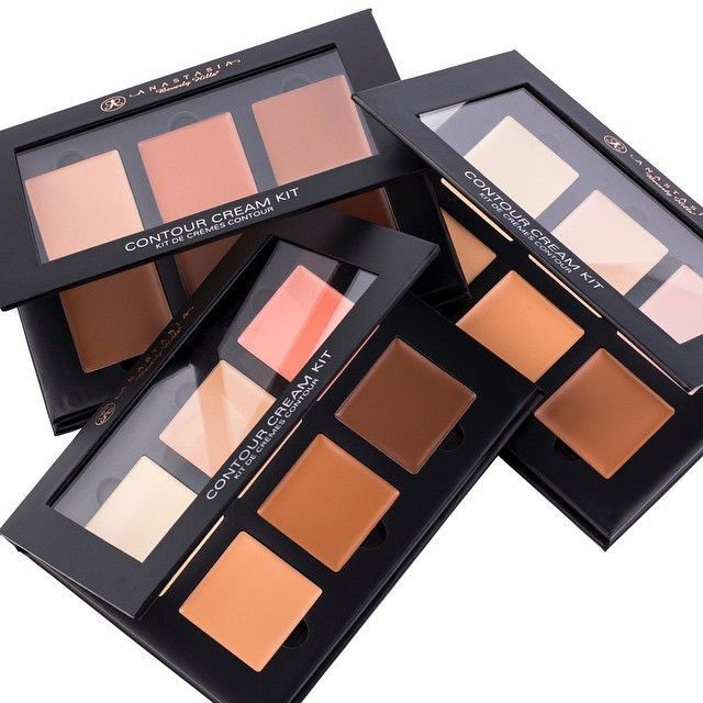 Палетка кремовых корректоров Anastasia Cream Contour Kit