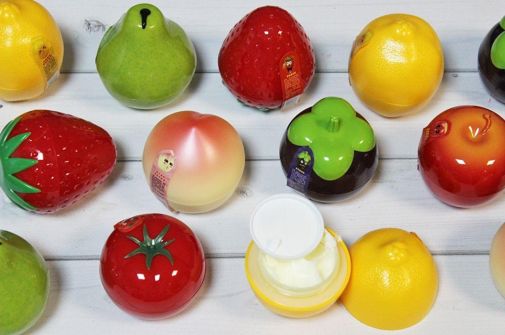Крема для рук в виде фруктов и овощей