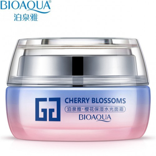 Крем для лица BioAqua Cherry Blossoms Facial Cream, 50 мл.